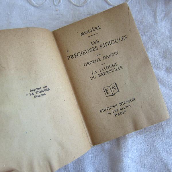モリエール古書